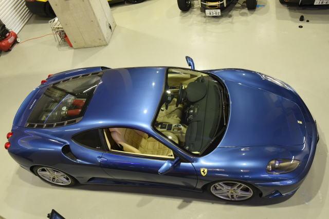 F430ブルー  内装白にて希少です!